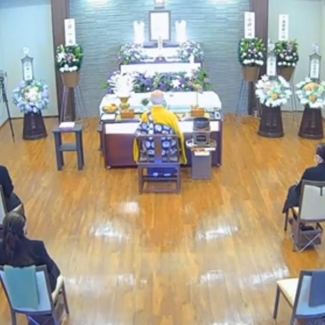 本日は自社の取り組みの一つ「オンライン葬儀」をご紹介をします。